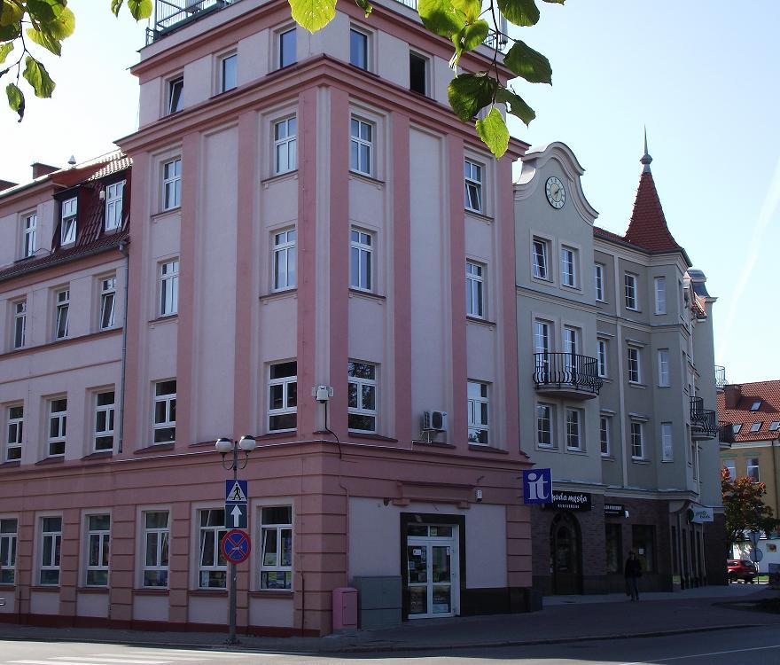 siedziba wydziału geodezji i budownictwa przy ulicy wyzwolenia 2