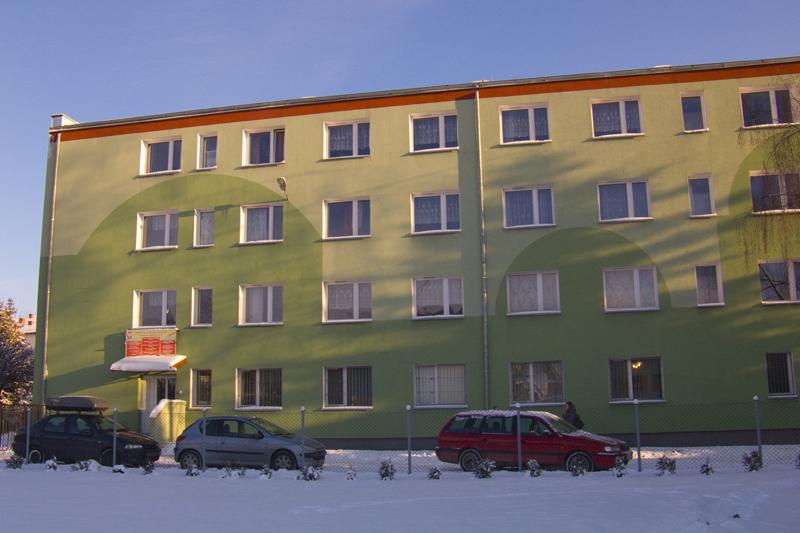 Budynek w którym mieści się Centrum